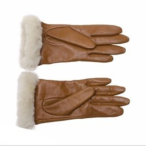 Ugg Leather Tech Gloves